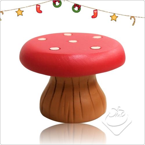 【DECOLE】concombre 蘑菇椅 聖誕節-限量公仔/聖誕節/Merry Christmas/交換禮物/聖誕節佈置/聖誕節禮物/公仔/Xmas╭。☆║.Omo Omo go物趣.║☆。╮