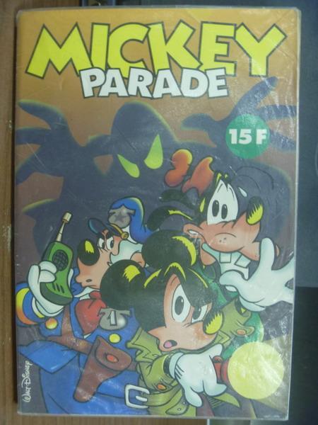 【書寶二手書T1/兒童文學_MCA】Mickey parade_15F_封面有米奇高飛