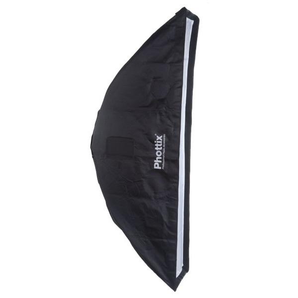 ◎相機專家◎ Phottix 二合一 帶網格 柔光箱 35x140cm 無影罩 蜂巢 柔光罩 公司貨 82670