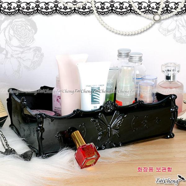 首飾珠寶盒『古典安娜蘇風格長方形收納盒-大號』飾品收納置物盒收納箱 MAKINO