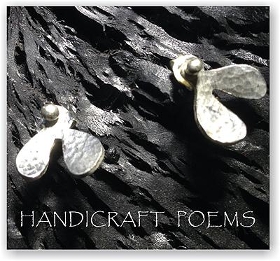 手工925純銀小樹苗耳飾,耳環,耳針設計~飛翔的種子~手作的詩讓您有好心情,情人/生日禮物!