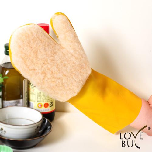 【Love Buy】仿羊毛除塵擦拭清潔手套_單入裝