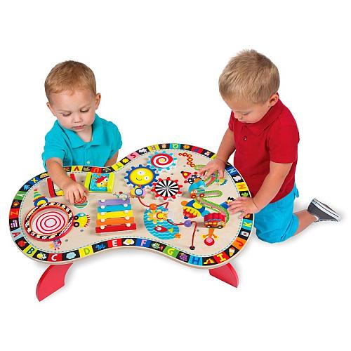 《★ 美國ALEX》 寶寶忙碌音樂遊戲桌 全台最低價 美國代購直送 溫媽媽