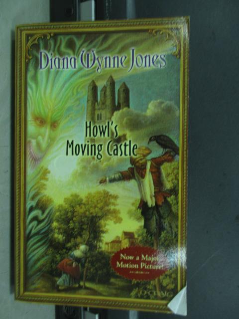 【書寶二手書T8/原文小說_MRO】Howl's moving castle_Diana wynne jones