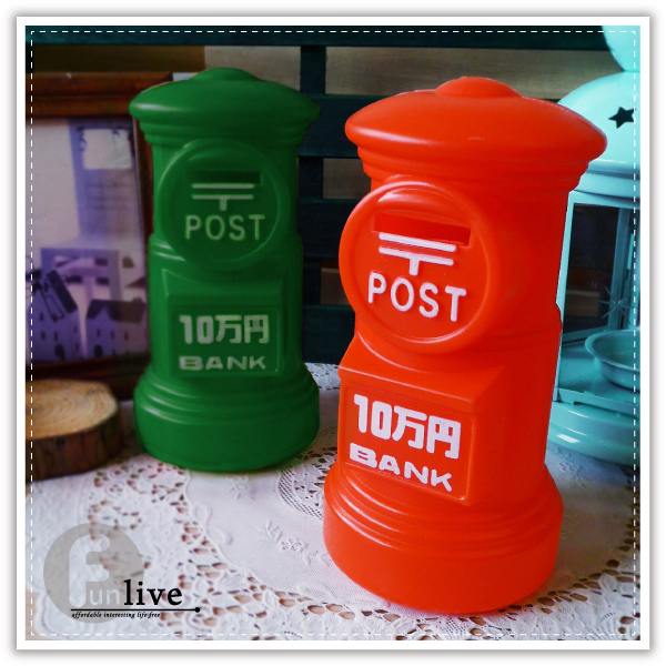 【aife life】郵筒存錢筒/英國郵筒/英倫風造型郵筒/生日禮物/聖誕禮物/過年/存錢罐/撲滿/贈品禮品