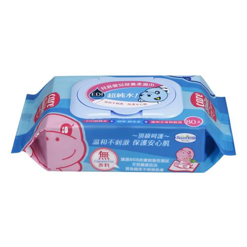【奇買親子購物網】貝恩BAAN EDI超純水嬰兒保養柔濕巾量販特價組