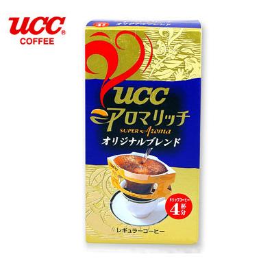 日本【UCC】原味綜合便利沖研磨咖啡(4入/盒)