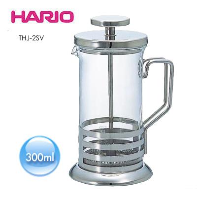 《HARIO》法式濾壓沖泡壺金屬壓柄-300ml/THJ-2SV