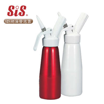 【SIS】SIS奶油發泡器 500c.c(紅、白兩色可選)