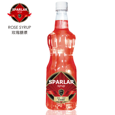 【Sparlar食伯樂】ROSE SYRUP 玫瑰糖漿/750ml