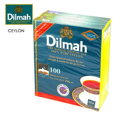 【Dilmah帝瑪】錫蘭紅茶 2gX100入/盒