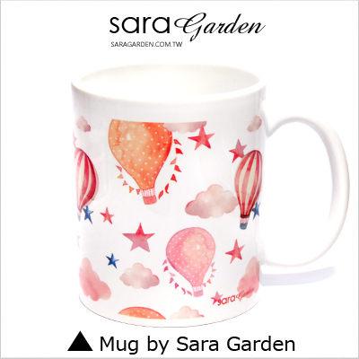 客製 手作 彩繪 馬克杯 Mug 水彩 漸層 輕旅行 熱氣球 咖啡杯 陶瓷杯 杯子 杯具 牛奶杯 茶杯【M0320036】