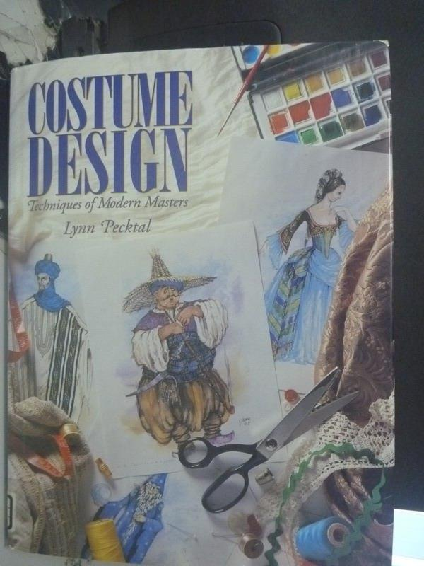 【書寶二手書T1/藝術_ZEJ】Costume design_Lynn Pecktal