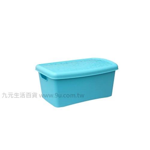 【九元生活百貨】聯府 KM-007 魔法07整理箱(附蓋) 置物 收納 KM007