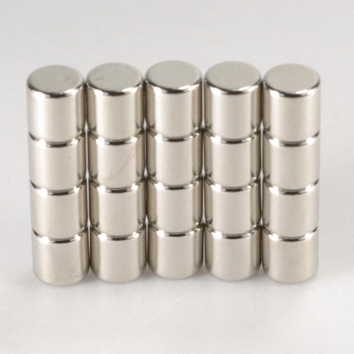 強力磁鐵釹鐵硼 圓直徑0.5公分*厚0.5公分 20個