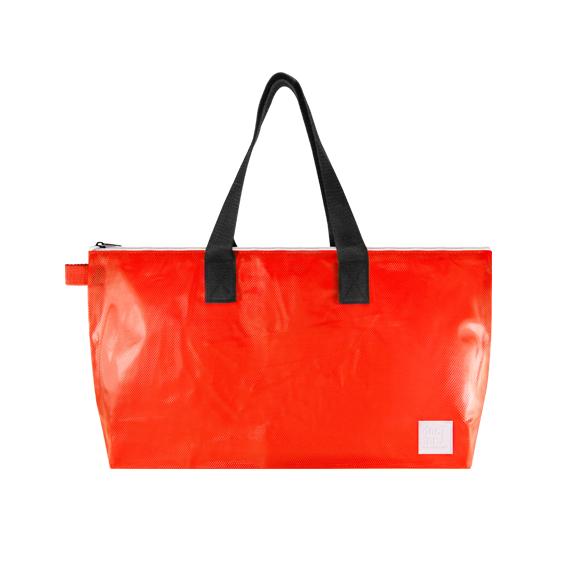 DoctorJ透明側背包  紅色