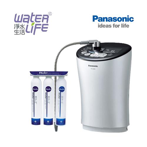 【淨水生活】【限時好禮贈送】《Panasonic 國際牌》【公司貨】TK-AS43 ZTA 鹼性離子電解整水器(銀) ★贈普德三道過濾器