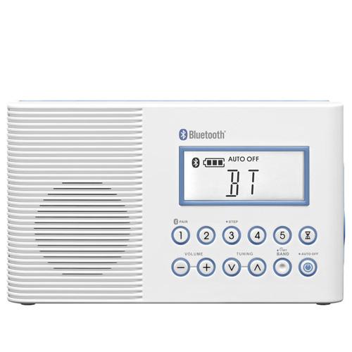 SANGEAN 二波段 藍芽浴室收音機 H202