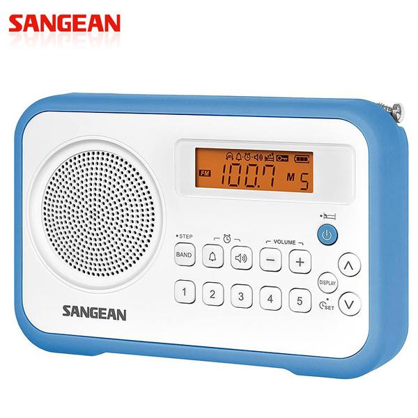 SANGEAN 二波段 數位式時鐘收音機 PRD30