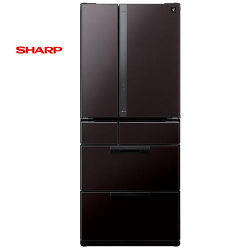 SHARP夏普(日本原裝進口)601L六門環保冰箱SJ-GF60X