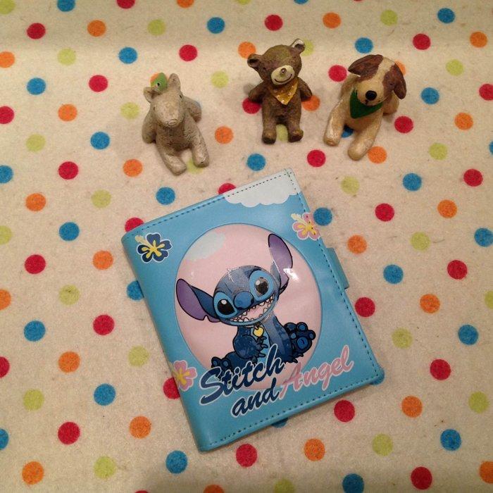 =優生活=日本迪士尼星際寶貝 史迪奇立體造型短夾 卡通史迪奇皮夾造錢包 零錢包 證件包