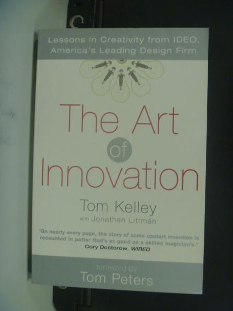 【書寶二手書T2/財經企管_OLG】The Art of Innovation_Thomas Kelley