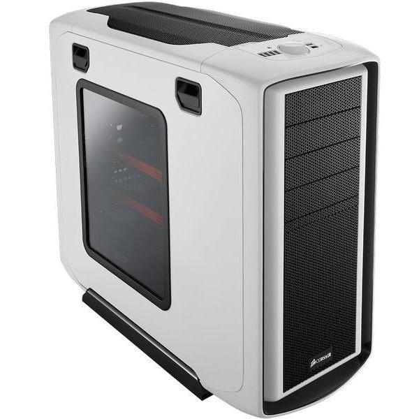 *╯新風尚潮流╭*海盜船 Corsair 限量透側白 頂級電腦玩家機殼 600T