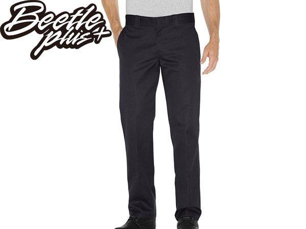 BEETLE PLUS DICKIES WP873BK PANTS 美式 873 老墨 黑色 經典 低腰 合身 工作褲