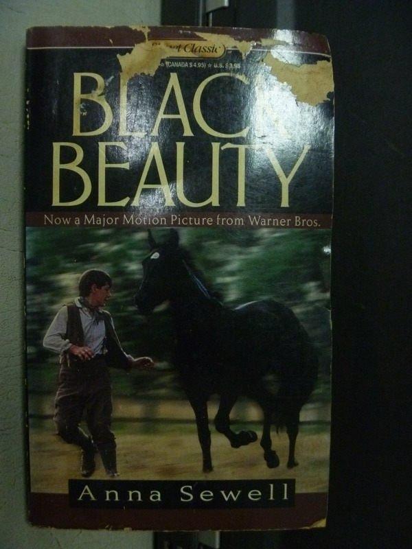 【書寶二手書T7/原文小說_OEM】Black Beauty Anna sewell