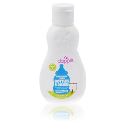 【悅兒樂婦幼用品館】美國dapple 無香奶瓶及餐具清潔液(外出型)-90ml
