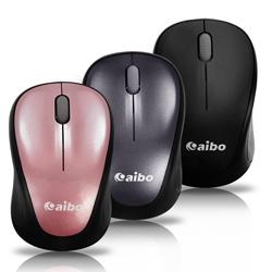 【迪特軍3C】aibo S511 2.4G無線高解析光學滑鼠 (黑) 1200 dpi 光學高解析方便攜帶的內存式接收器