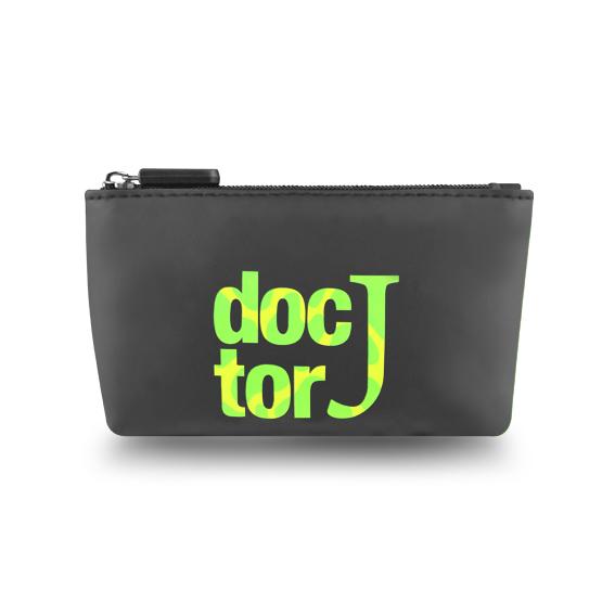 DoctorJ 拉鏈零錢包 黑色