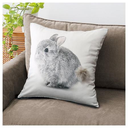 45x45抱枕套 兔子 COVER KIKI