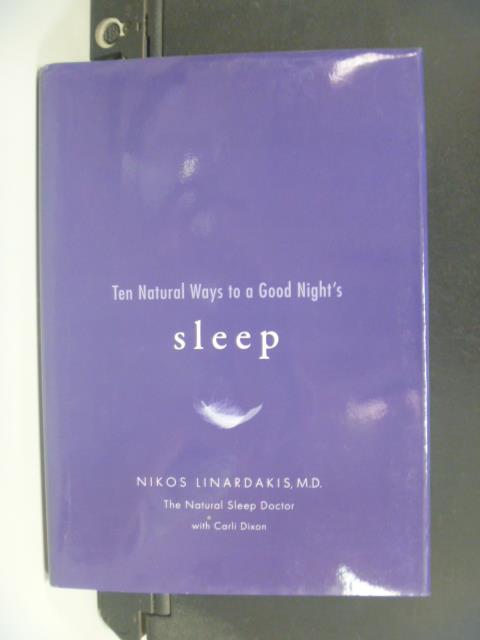 【書寶二手書T5/養生_OMB】Ten Natural Ways to a Good Night's Sleep