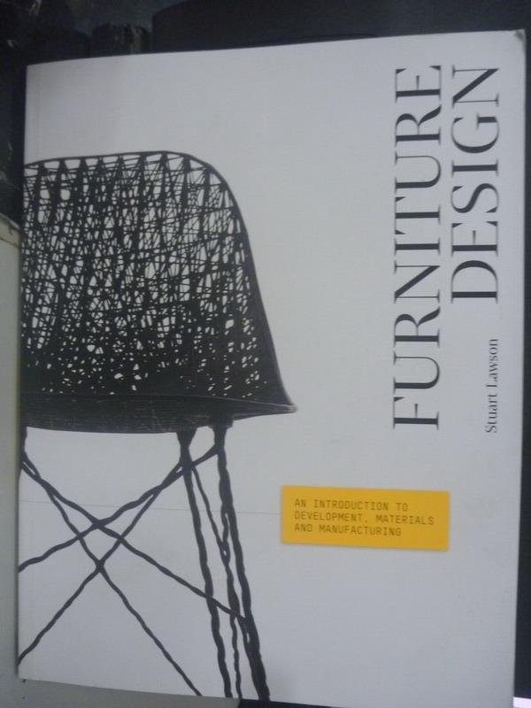 【書寶二手書T1/設計_ZCK】Furniture Design_Stuart Lawson