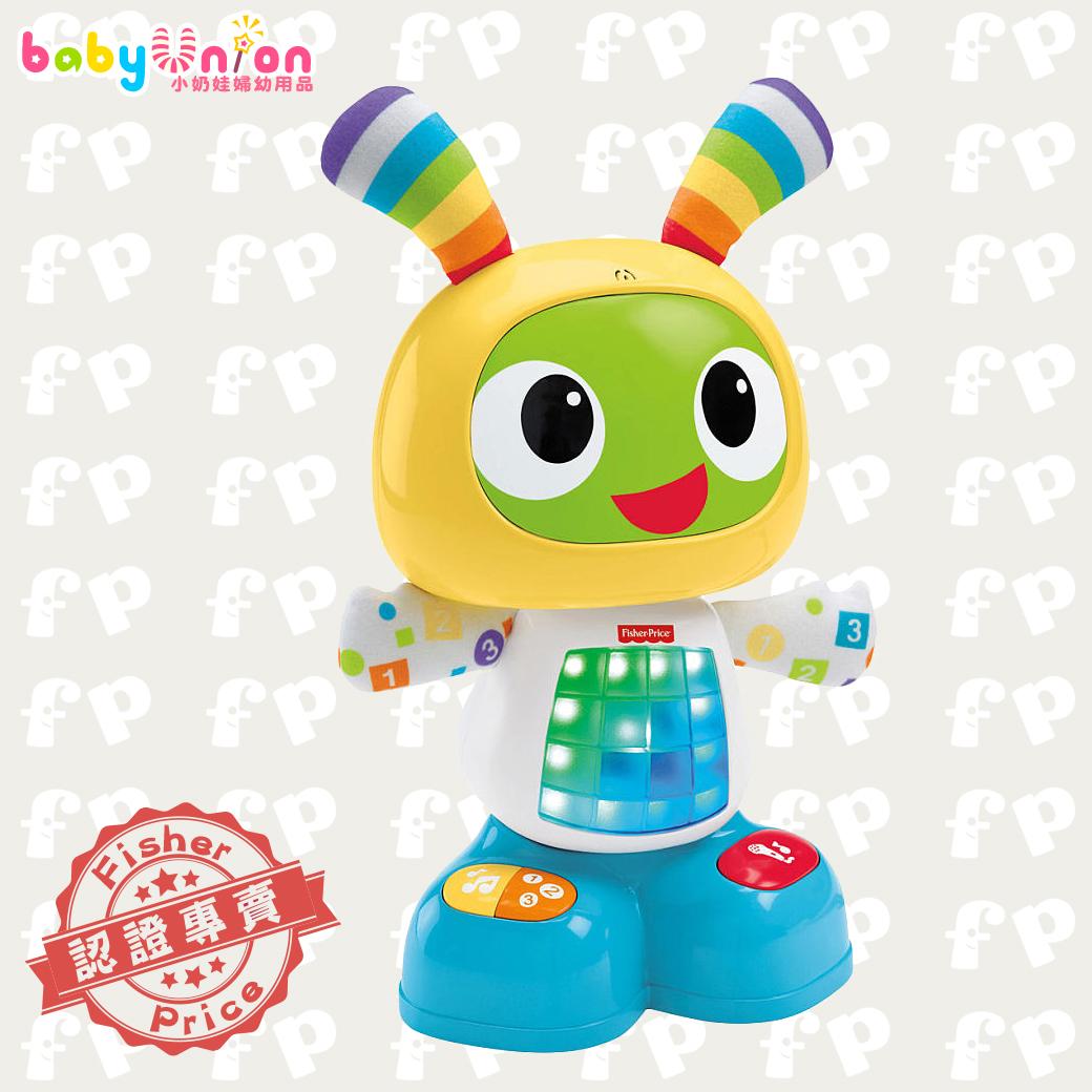 *贈費雪身高尺+Nuby蔬果棒* Fisher-Price費雪 - 唱歌跳舞學習機器人小貝貝