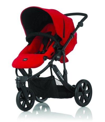 Britax - B-SMART 三輪雙向手推車 (紅) 加購Britax - Baby-Safe提籃享特價優惠!