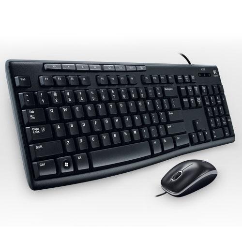 羅技 Logitech MK200 USB 鍵盤滑鼠組