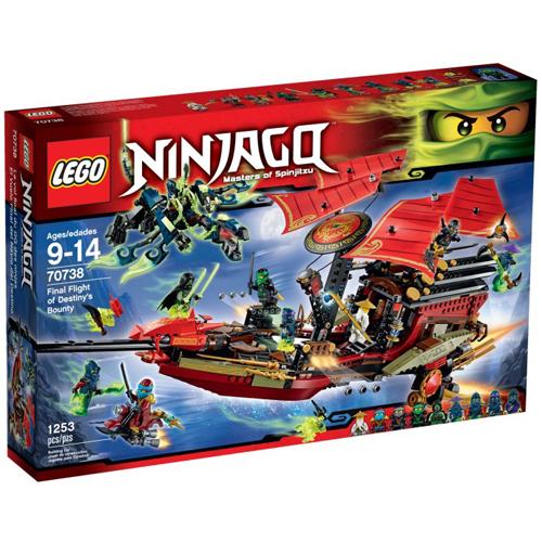 樂高積木LEGO《 LT70738 》2015 年 NINJAGO 旋風忍者系列 - 使命號之最終決戰