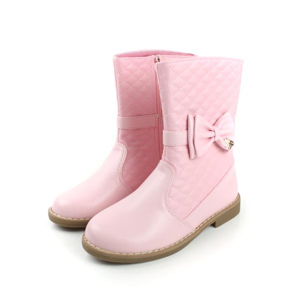 靴子 粉 童 no123