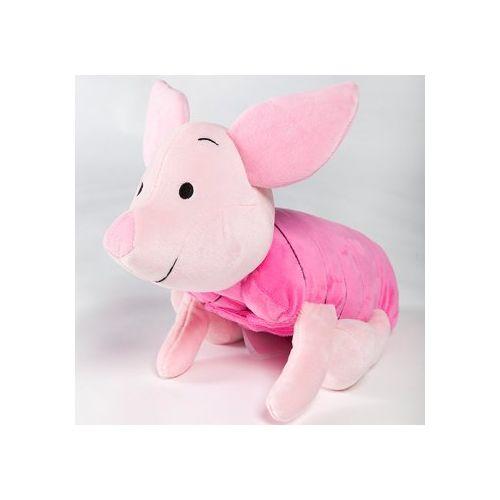 ★衛立兒生活館★美國 Zoobies 迪士尼三合一多功能玩偶毯-小豬皮傑「玩偶+枕頭+毛毯」