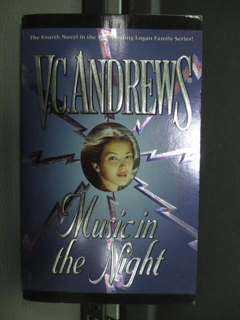 【書寶二手書T1/原文小說_NFB】Music in the night_V.C.Andrews