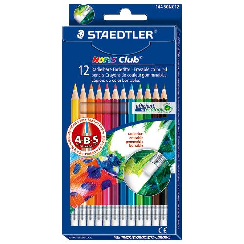 【STAEDTLER】 144NC12 油性色鉛筆 (快樂學園)
