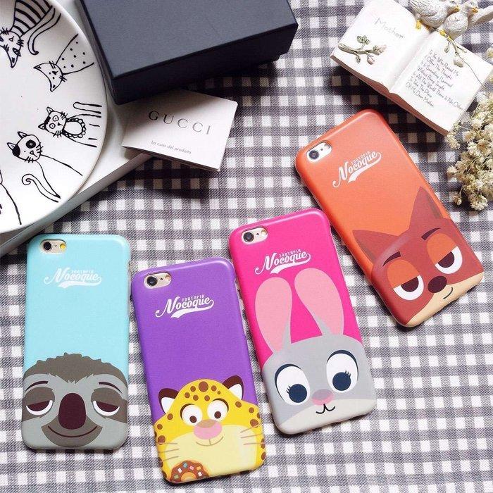 iPhone 6/6S 6+ PLUS 動物方城市 快俠 樹懶 茱蒂 尼克 手機殼 全包 軟殼 超薄殼