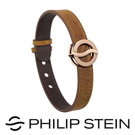 【Philip Stein】翡麗詩丹能量手環-【深灰/芥末綠】睡眠手環/運動手環