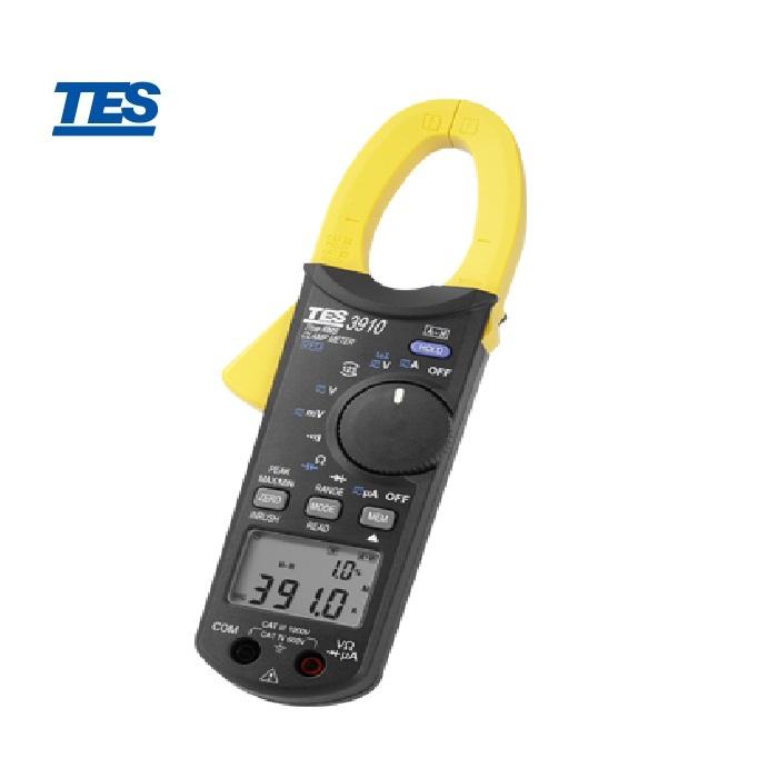 泰仕 TES-3910  真有效值交直流鉤錶(DC/AC 1000A)