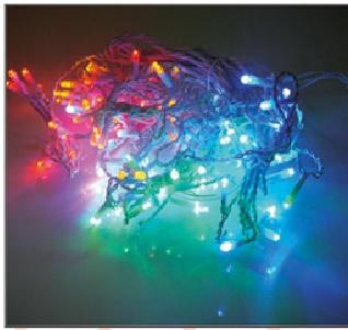 訂製品★LED窗簾燈 彩色 110V/220V (100顆燈)3X0.9米★永旭照明5A1-CM26M005(B)