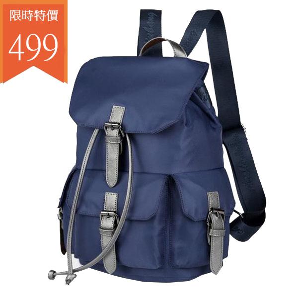 後背包-尼龍多口袋後背包-6051- J II