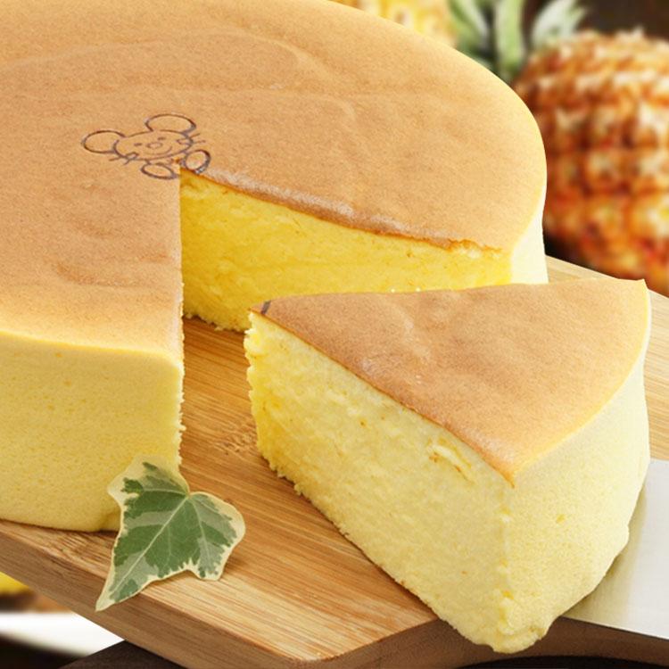 [伯恩乳酪工坊]❤8吋鳳梨優格中乳酪❤伯恩招牌款❤嚴選大樹產金鑽鳳梨.全以100%鳳梨原汁取代蛋糕所需水份. 口感清新自然濃稠 彷彿每一口都在吃新鮮鳳梨