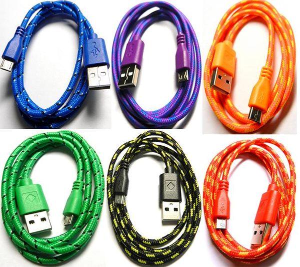 [良基電腦] UB-366 USB2.0 A公-Micro B公棉質線 1米 [天天3C]